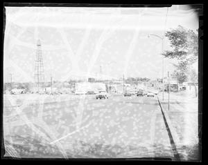 Primary view of object titled 'View of Northeast 23rd Street in Oklahoma City'.