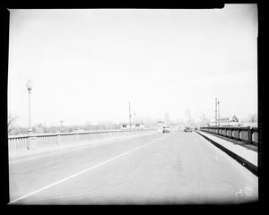 Primary view of object titled 'View Looking North on North Canadian River Bridge on Robinson Avenue in Oklahoma City'.