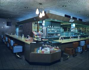 Primary view of object titled 'Counter at Beverly's Grill'.