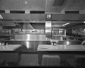Primary view of object titled 'Kitchen at Beverly's Grill'.