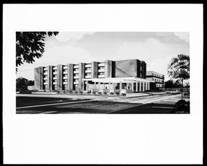 Primary view of object titled 'Architectural Rendering for Norman Regional Hospital'.