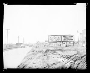 Primary view of object titled 'View of South May Avenue in Oklahoma City'.