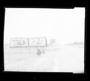 Primary view of object titled 'View of South Shields Boulevard in Oklahoma City'.