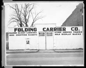 Primary view of object titled 'Folding Carrier Company'.
