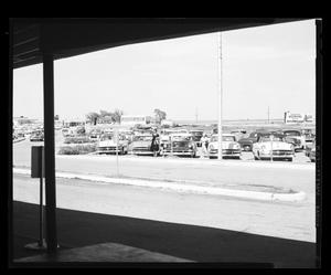 Primary view of object titled 'Patron Parking at Will Rogers Airport'.