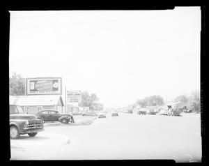 Primary view of object titled 'View of South Agnew Avenue in Oklahoma City'.