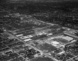 Primary view of object titled 'Aerial View of Oklahoma City, Oklahoma'.