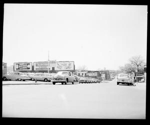 Primary view of object titled 'View of NW 4th Street & Harvey Avenue in Oklahoma City'.
