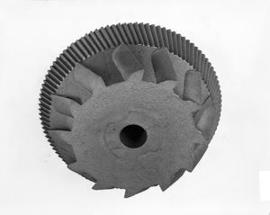 Primary view of object titled 'Metal Gear or Pulley'.