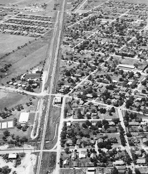 Primary view of object titled 'Aerial View of Norman, Oklahoma'.