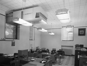 Primary view of object titled 'Veteran Affairs Office in the Wiley Post Building'.