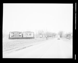 Primary view of object titled 'View Looking Past 40th & Lincoln Blvd in Oklahoma City'.