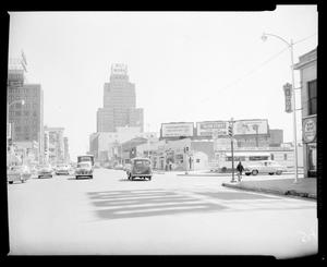 Primary view of object titled 'View Looking East on West Grand Avenue in Oklahoma City'.