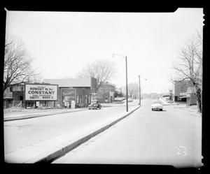 Primary view of object titled 'View Looking West on Northeast 8th Street in Oklahoma City'.