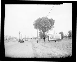 Primary view of object titled 'View of South Western Avenue in Oklahoma City'.