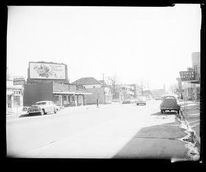Primary view of object titled 'View of Northwest 4th Street in Oklahoma City'.