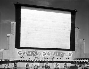 Primary view of object titled 'Rancho Drive-in at Norman, Oklahoma'.