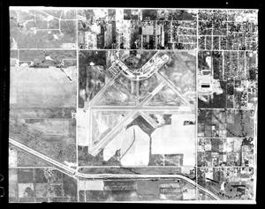 Primary view of object titled 'Aerial View of Tulakes Airport'.