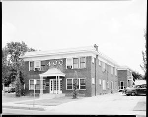 Primary view of object titled 'Apartment Building in Oklahoma City'.