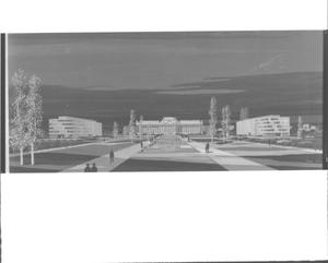 Primary view of object titled 'Oklahoma State Capitol Area Buildings Rendering'.