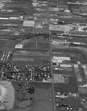 Primary view of object titled 'Aerial View of Oklahoma City'.