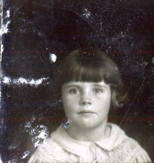 Primary view of object titled 'Unknown Child'.