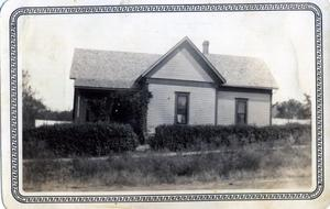 Primary view of object titled 'Residence in Wanette, Oklahoma'.
