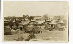 Primary view of object titled 'First Virginia Camp'.