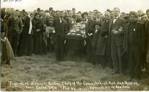 Primary view of object titled 'Funeral of Quanah Parker'.