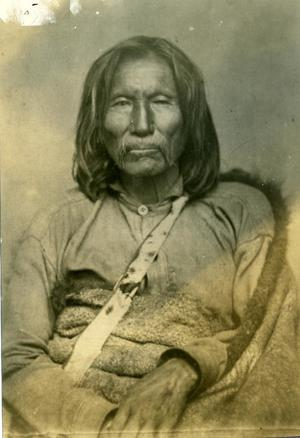 Primary view of Satank (Sitting Bear), a Kiowa Chief