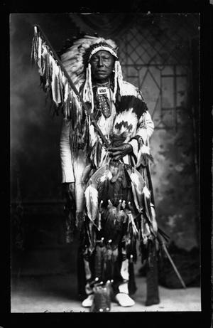 Primary view of object titled 'Cheyenne Chief Mad Bull Calument Sundance'.