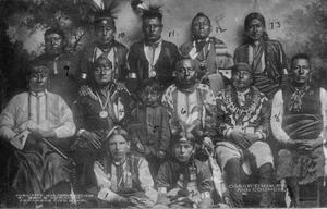 Primary view of Osage Chiefs and Council