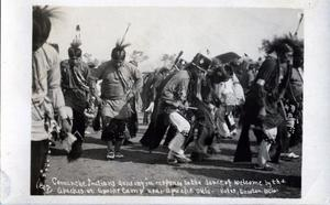 Primary view of object titled 'Comanche Indians Dancing'.