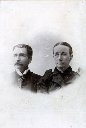 Primary view of object titled 'Reverend J. W. Fore and His Wife'.