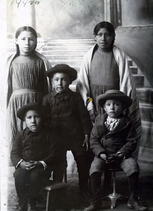 Primary view of object titled 'Cook Family Children'.