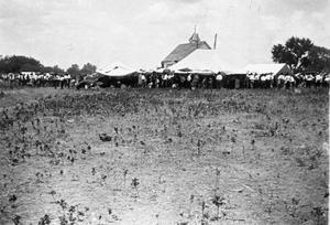 Primary view of object titled 'Baptist Home Mission Encampment'.