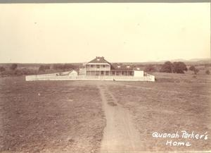 Primary view of object titled 'Quanah Parker's Home'.