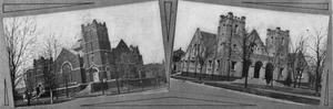 Primary view of object titled 'Methodist Church & Presbyterian Church at Enid'.