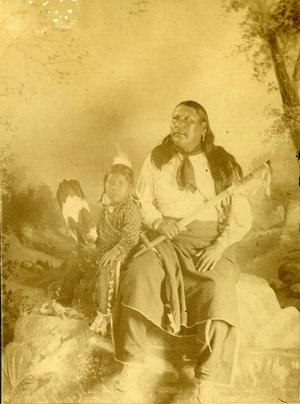 Primary view of object titled 'Knife Chief and Sam Dennis James'.