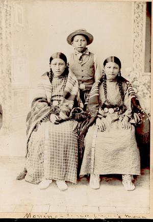 Primary view of object titled 'Cheyenne Family'.