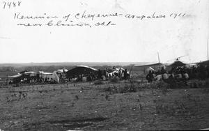 Primary view of object titled 'Cheyenne Arapaho Reunion'.