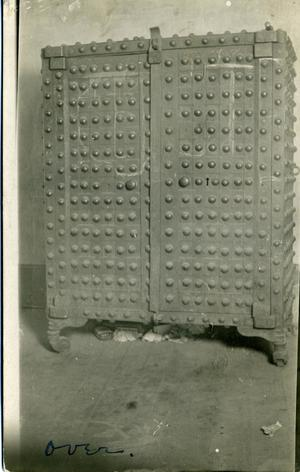 Primary view of object titled 'Old Cherokee Safe'.