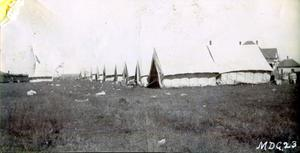 Primary view of object titled 'Kiowa Indian Baptist Home Mission Camp'.
