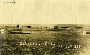Primary view of object titled 'Oklahoma Station Two Hours Before Opening'.