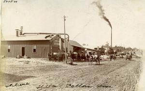 Primary view of object titled 'Abercrombie and M Cotton Gin at Stillwater, Oklahoma'.