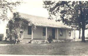 Primary view of object titled 'Oldest Home in Fort Gibson, Oklahoma'.