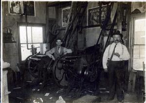 Primary view of object titled 'Waukomis Hornet Print Shop'.