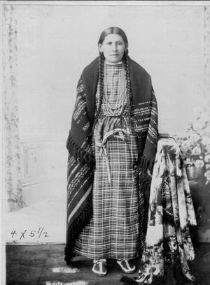 Primary view of object titled 'Sioux Woman, Cheyenne Indian'.