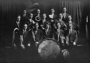 Primary view of object titled 'Band at Phillips University'.