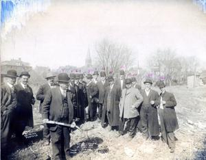 Primary view of object titled 'Ground Breaking Federal Building Oklahoma City'.